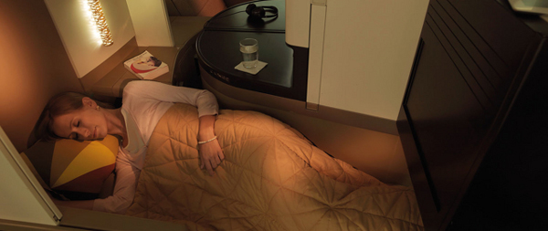 Etihad A380 Business Studio