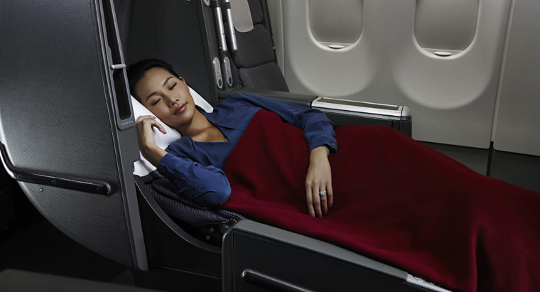 Qantas Airlines Business Class