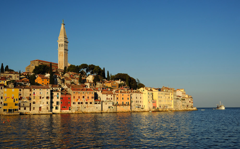 Dawn Over the Rovinj Skyline
