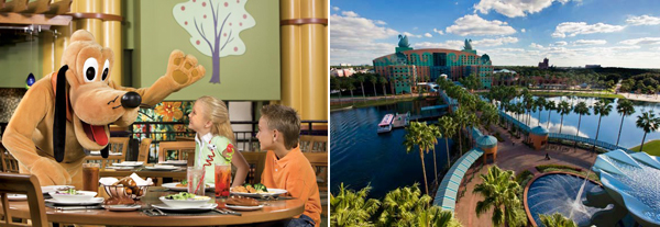 Swan and Dolphin Resort, Disney World
