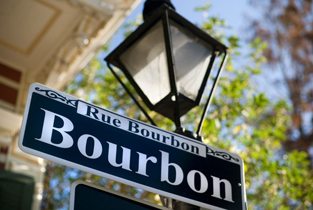 Bourbon Street, New Orleans French Quarter